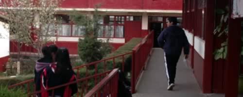Estudiantes en escuelas de México