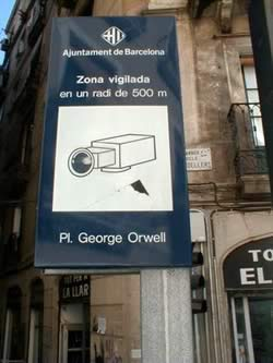 Plaza George Orwell