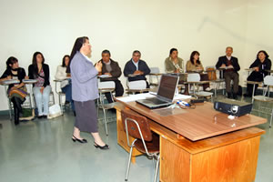 grupo del dipomado para docentes en Chile