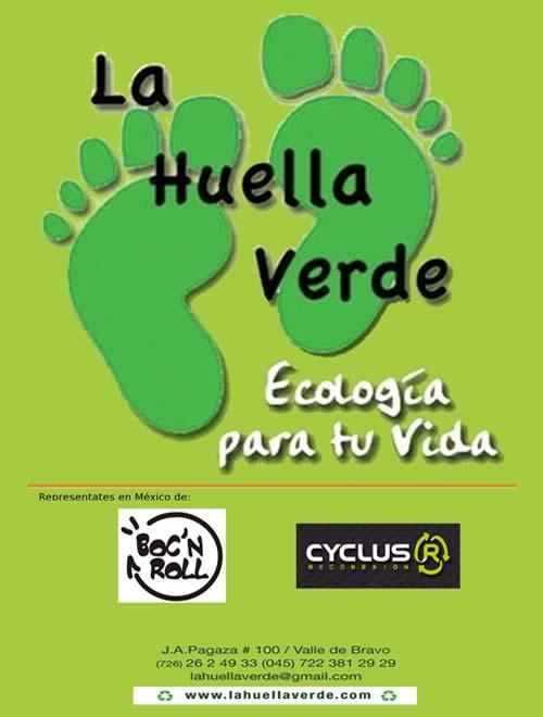 Cartel La Huella Verde