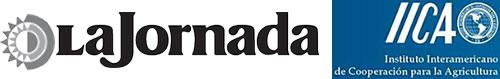 Logo Periodico La Jornada y logo IICA