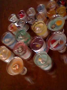 velas producidas por Psicodelicos Onfire