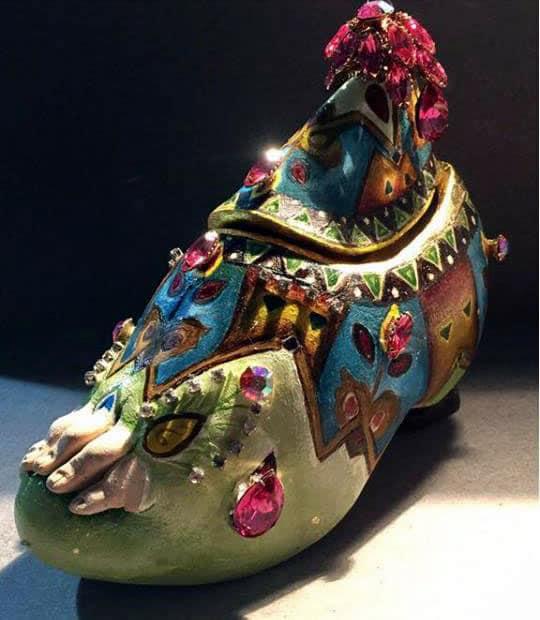 Ejemplos de arte objeto: huevos Fabergé
